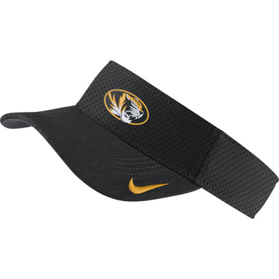 Mizzou Nike® 2019 Team Issue Oval Tiger Head Black Visor