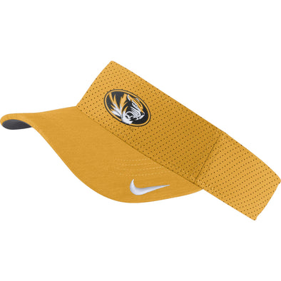 Mizzou Nike® 2019 Team Issue Oval Tiger Head Gold Visor