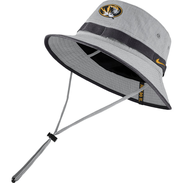 Mizzou Nike® 2019 Oval Tiger Head Grey Bucket Hat