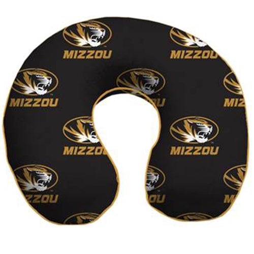 Mizzou Oval Tiger Head Travel Neck Pillow
