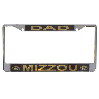 Mizzou Dad License Plate Frame