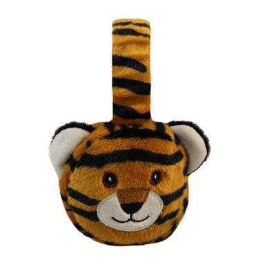 Mizzou Plush Tiger Earmuffs Adjustable