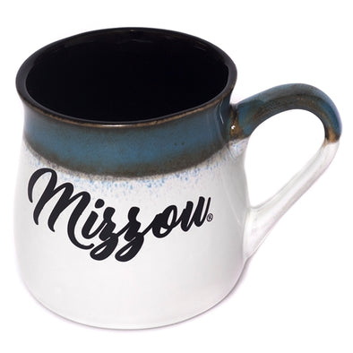 Mizzou Blue & White Ceramic Tavern Mug