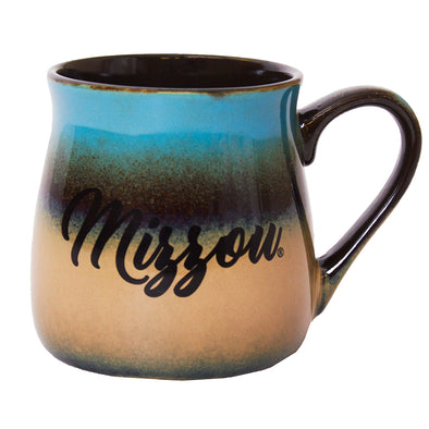 Mizzou Blue & Tan Ceramic Tavern Mug