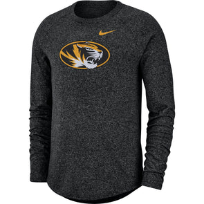 Mizzou Nike® 2019 Oval Tiger Head Black Long Sleeve T-Shirt