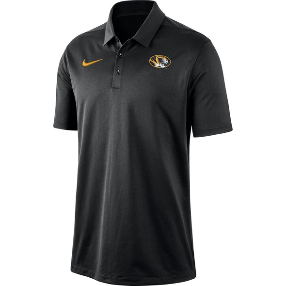 Mizzou Nike® 2019 Dri-Fit Franchise Black Oval Tiger Head Polo