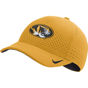 Mizzou Nike® 2019 Oval Tiger Head Sideline Adjustable Gold Hat