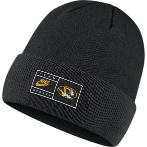 Mizzou Nike® 2020 Cuffed Oval Tiger Head Beanie