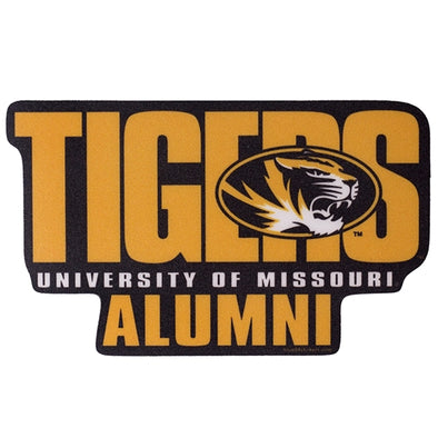 Mizzou Tigers Alumni Black & Gold Sticker