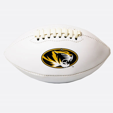 Mizzou Tigers Oval Tiger Head Mini Size Football