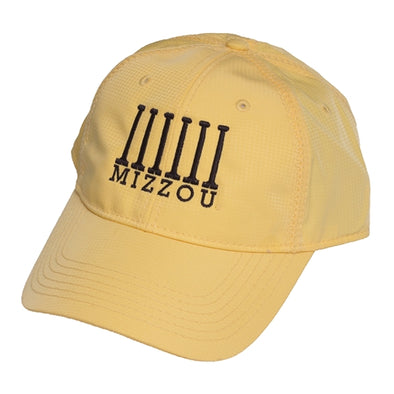 Mizzou Juniors' Historic Columns Yellow Adjustable Hat
