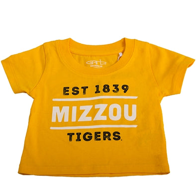 Mizzou Est. 1839 Gold Toddler T-Shirt