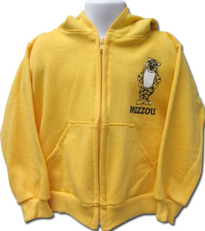 Mizzou Infant Full Zip Gold Truman Hoodie