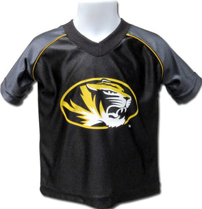 Mizzou Oval Tiger Head Youth Replica Football Jersey