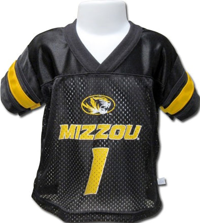 Mizzou Toddler Replica Black Football Jersey