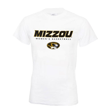 Mizzou Women's Basketball Short Sleeve T-Shirt