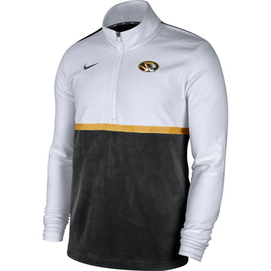 Mizzou Nike® 2020 Half Zip Oval Tiger Head Jacket