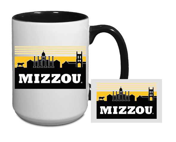 Mizzou Sky Scape University of Missouri White Ceramic Mug