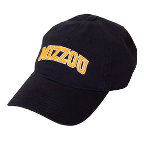 Mizzou Vintage Legacy Black Adjustable Hat
