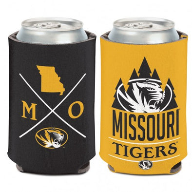 Missouri Tigers Collapsible Hipster Dual Tone Can Holder