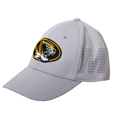 Mizzou Oval Tiger Head Perferated M One Fit Hat