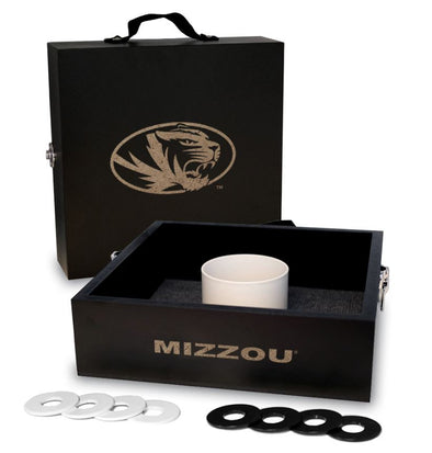 Mizzou Onyx Oval Tiger Head Washer Toss