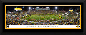 Mizzou Deluxe Framed Print Faurot Field Homecoming 2019