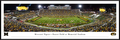 Mizzou Framed Print Faurot Field Homecoming 2019