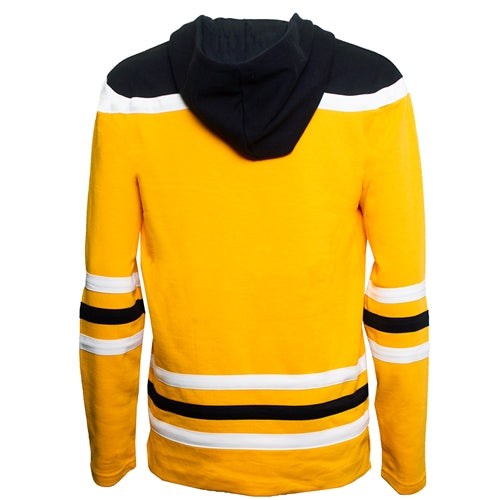 Mizzou Tiger Head Champion Gold Hockey Jersey Hoodie