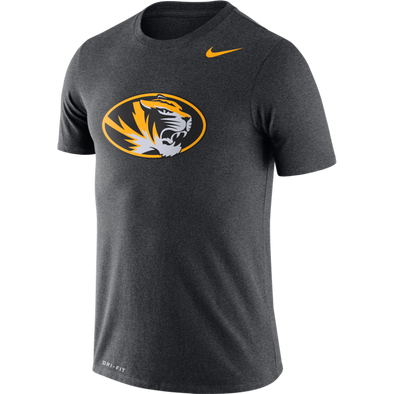 Mizzou Nike® 2020 Dri-Fit Oval Tiger Head Black T-Shirt
