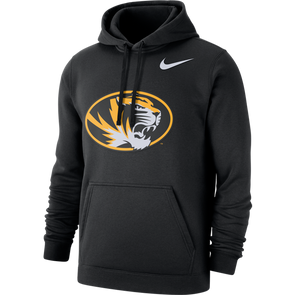 Mizzou Nike® 2020 Oval Tiger Head Black Hoodie