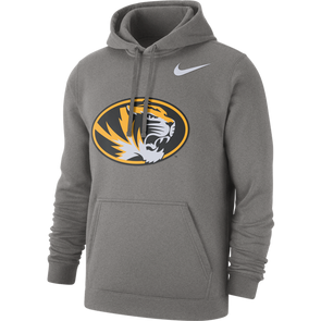 Mizzou Nike® 2020 Oval Tiger Head Grey Hoodie