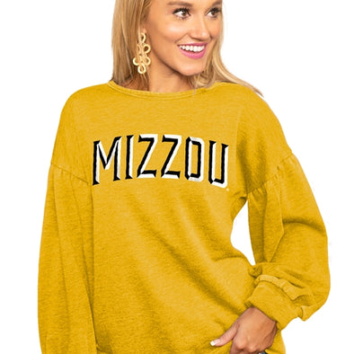 Mizzou Junior's Gold Sweatshirt