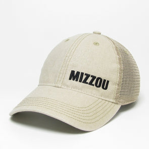 Mizzou Off White Trucker Hat