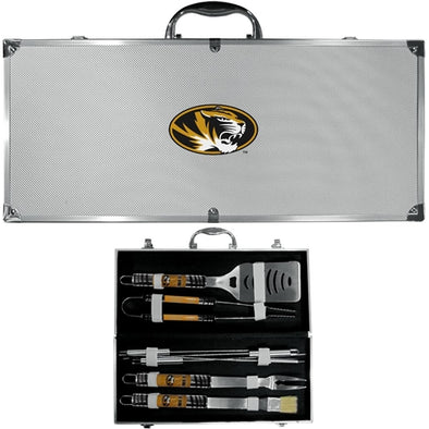 Mizzou Oval Tiger Head 8-Piece Barbecue Set