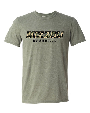 Mizzou Baseball 2021 Green Camo T-Shirt