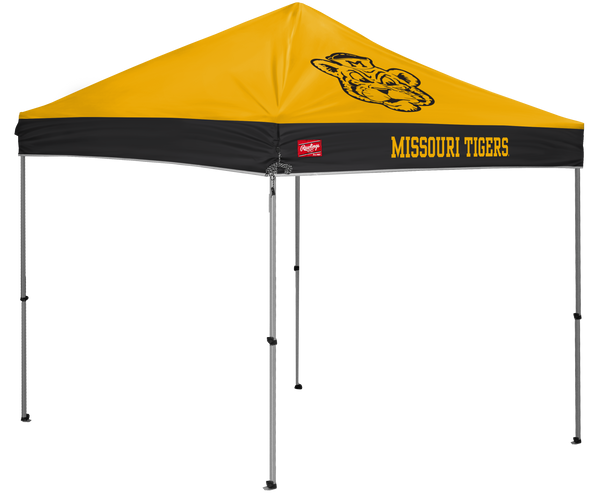 Mizzou Paw and Beanie Vault Logos Tailgate Tent