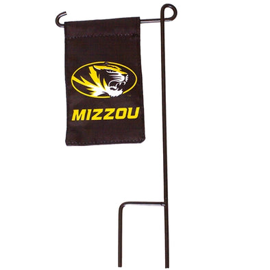 Mizzou Oval Tiger Head Mini Garden Flag