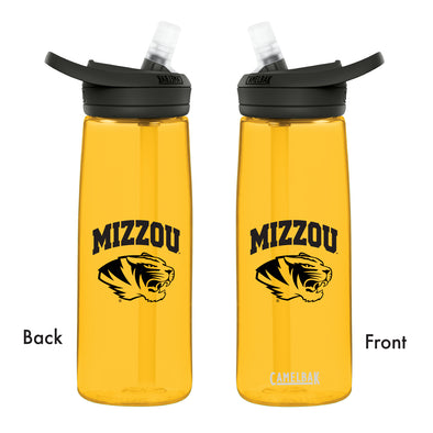 Mizzou CamelBak Tiger Head Black with Yellow Water Bottle