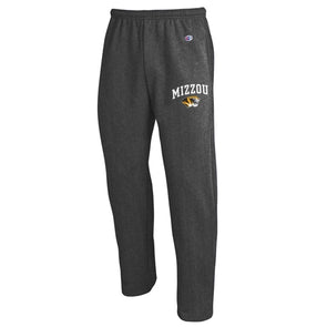 Mizzou Tiger Head Champion Charcoal Grey Sweatpants
