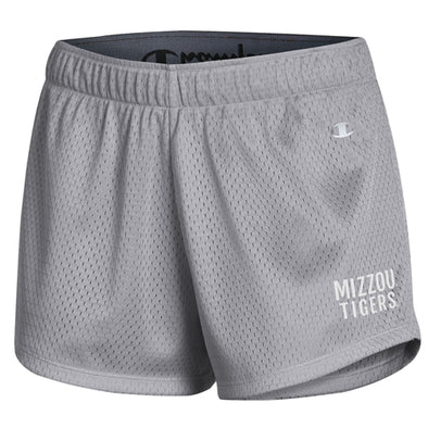 Mizzou Tigers Champion Grey Mesh Shorts