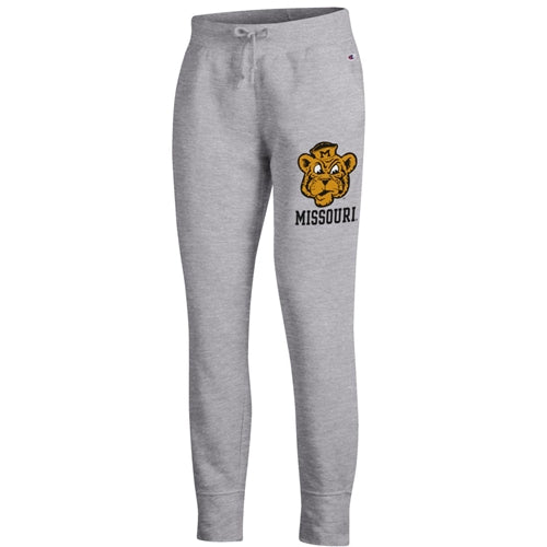 Missouri Tiger Beanie Junior's Champion Heather Grey Jogger Sweatpants