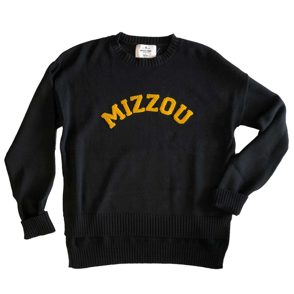 Mizzou Black Darby Sweater