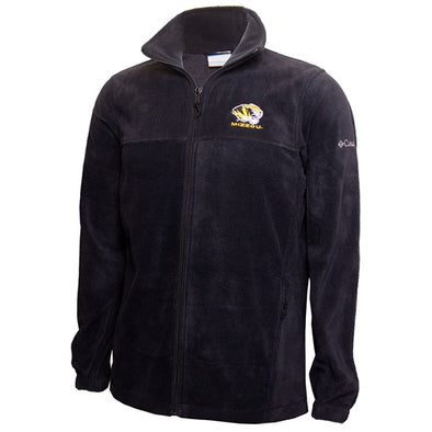 Mizzou Tiger Columbia Black Full Zip Jacket