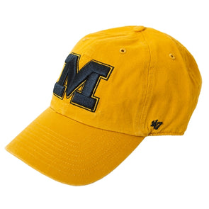 Mizzou Block M Gold Adjustable Hat