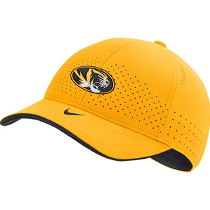 Mizzou Nike® 2020 Gold Adjustable Oval Tiger Head Hat