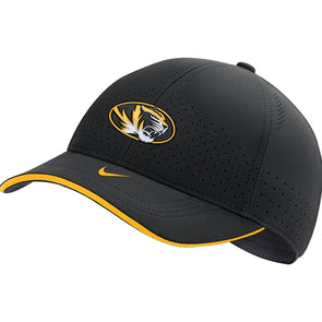 Mizzou Nike® 2020 Black Adjustable Oval Tiger Head Hat