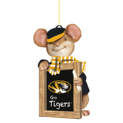 Mizzou Holiday Mouse Go Tigers Ornament