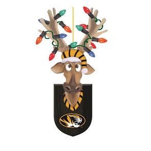Mizzou Resin Reindeer with Lights Ornament