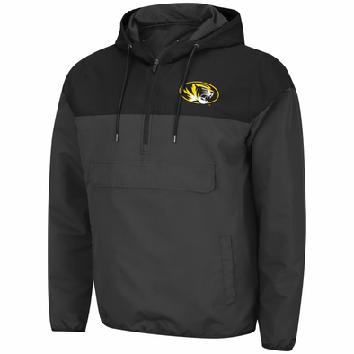 Mizzou Colosseum Oval Tiger Head 1/2 Jacket